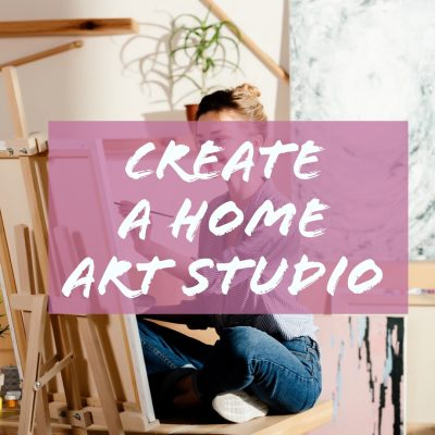 Create a home art studio