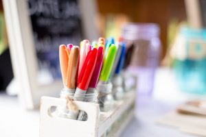 Markers for art journaling