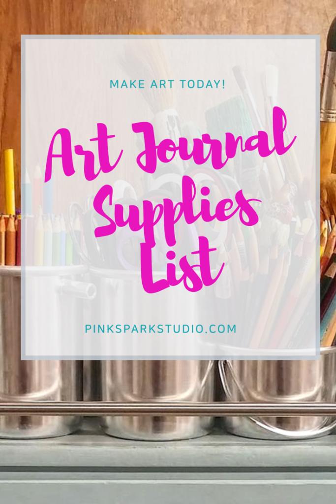 Art supplies list