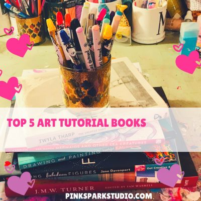 Top 5 art tutorial books