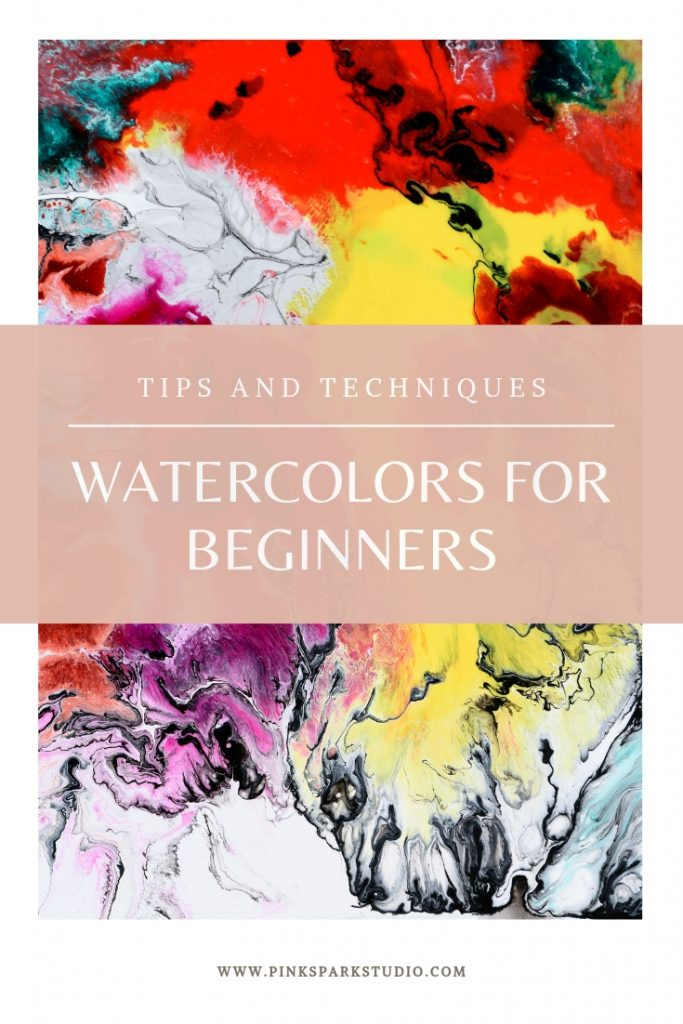 How to paint with watercolor