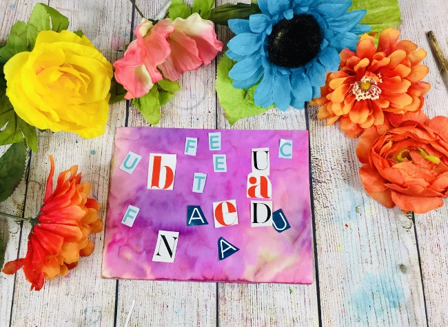 Letters to add to art journal