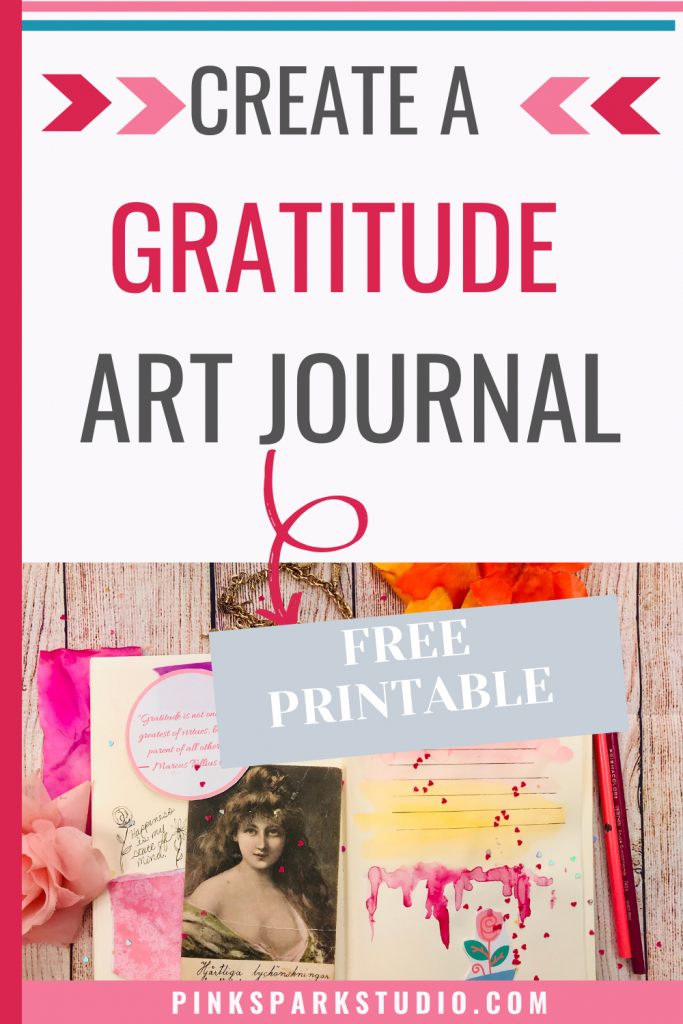 Gratitude art journal