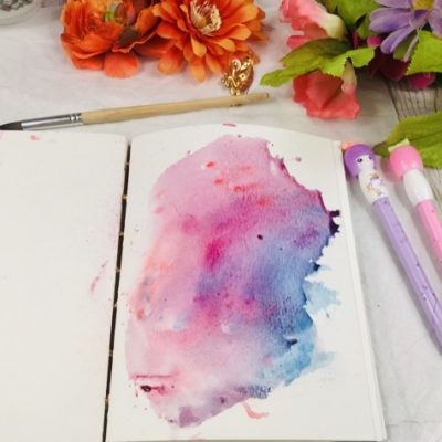 Watercolor Background Painting