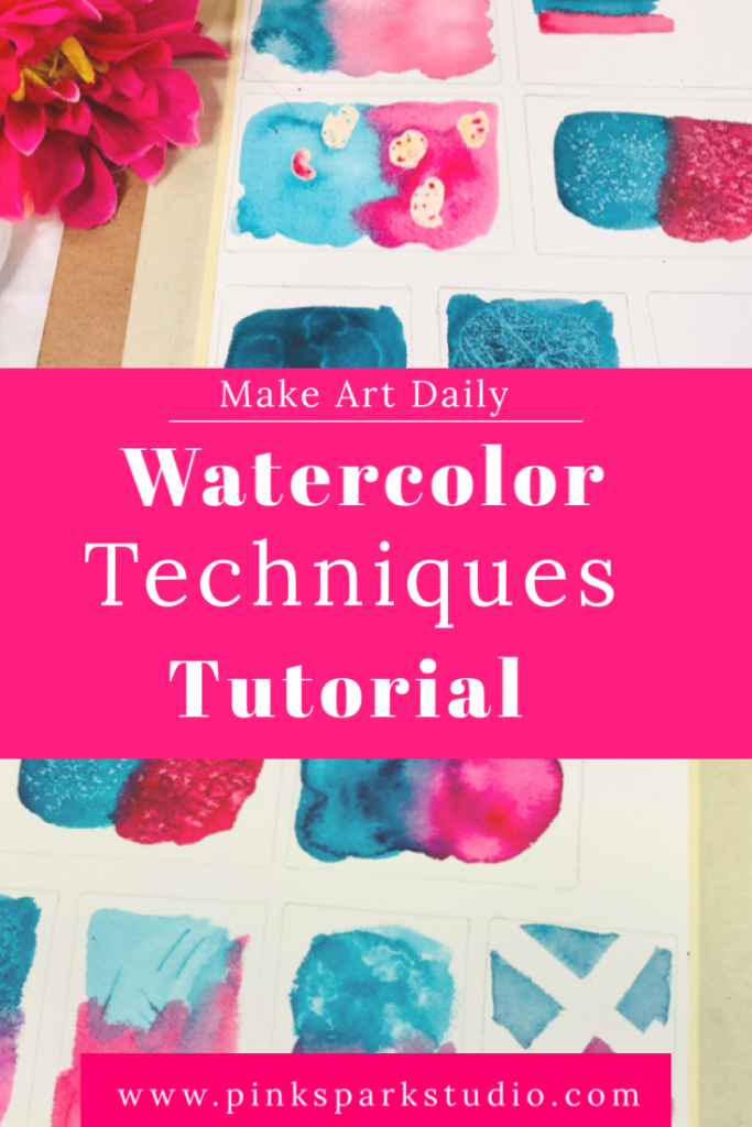 Watercolor painting techniques