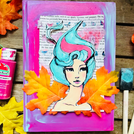 Acrylic paint for art journaling